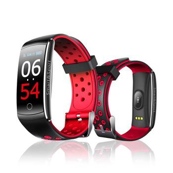 《u-ta》彩色屏運動防水心率手環S8(公司貨)(黑紅)