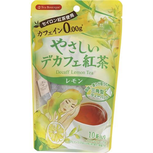 日本溫和無咖啡因紅茶包 1.2g*10入/袋(檸檬紅茶)