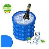 環保矽膠冰桶 製冰器 飲料冰桶 冰塊模具(直徑13/高14cm)