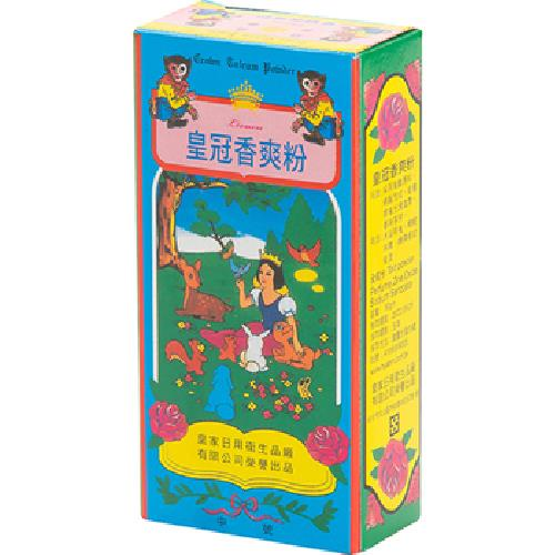 《皇冠》香爽粉(紙盒)(90g/盒)