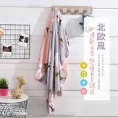 《FOCA》【FOCA 北極熊樂園】北歐風-小清新云芙絨透氣空調毯-韓國設計