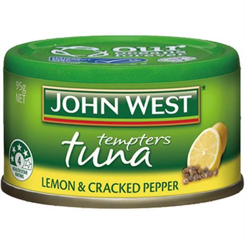 John West 檸檬胡椒鮪魚罐頭(95g)