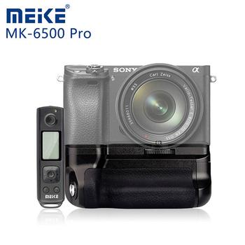 《Meike 美科》SONY A6500 Pro 垂直手把(附遙控器)贈GT-02桌上腳架