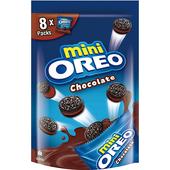 《OREO》迷你奧利奧巧克力夾心餅乾(184g/袋)