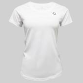《KRATOS》彈性紗抗UV運動T恤精典款白色(NKT1XL03040702-XL)