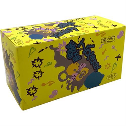 《柑仔店》透逗糖-黃色(10入/盒)
