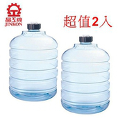 《晶工牌》5.8L開飲機聰明蓋儲水桶JK-588 *2入組