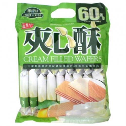 《盛香珍》夾心酥-檸檬口味(400g/包)
