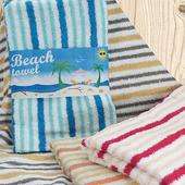 《MORINO》夏日繽紛海灘巾(70x140cm﹨TA6816)