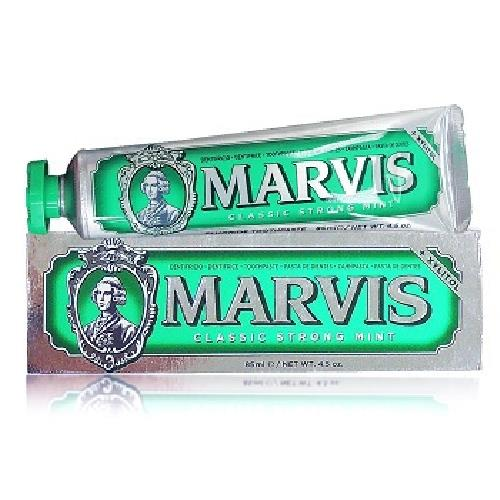 《MARVIS》牙膏-85g/條(經典薄荷-綠)