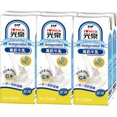 《光泉》高鈣牛乳(無糖)(200ml*6包/組 (slim))