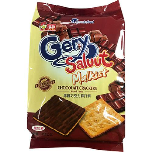 《Gery》厚醬巧克力蘇打餅(216公克/包)