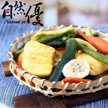 《自然優》綜合蔬果脆片(70g/包)(x6包)
