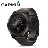 《Garmin》Fenix 5X Plus 行動支付音樂GPS複合式心率腕錶(石墨灰-鈦)