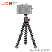 《JOBY》金剛爪 3K套組腳架 (JB51) GorillaPod 3K Kit