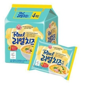 《韓國不倒翁》超濃厚起司拉麵135gX4包/袋