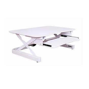 《美商艾湃Apexgaming》桌上型電動升降桌 EDR-3612(白色)