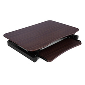 《美商艾湃Apexgaming》桌上型電動升降桌 EDR-3612(原木色)