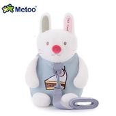 《Metoo》可愛兔兔 牽引繩 防走失兒童背包(27*25*12cm)