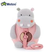 《Metoo》憨厚河馬 牽引繩 防走失兒童背包(27*25*12cm)