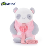 《Metoo》牽引繩 防走失兒童背包 27*25*12cm(熊貓)