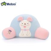 《Metoo》波波狗腰枕 靠枕 午休枕 27*50*27cm(淡雅藍)
