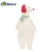 《Metoo》魔法動物長抱枕(小號)(象牙白狗狗)