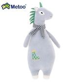 《Metoo》魔法動物長抱枕(大號)(淺墨灰小馬)
