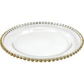 《Novella Amante》水晶玻璃蛋糕盤(21cm-小)