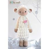 《Bobi》勾針娃娃-綿羊騎士-芭芭拉-Little Knight Barbra(30(H) /WT-212CRE-F-M)
