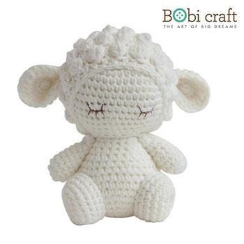 《Bobi》勾針娃娃-小小巴巴拉-Mini Barbra Softie(15(H) /WT-132WHI-M)