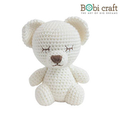 《Bobi》勾針娃娃-小小莉絲-Mini Lizzie Softie(15(H) /WT-133WHI-M)