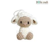 《Bobi》勾針娃娃-芭芭拉吊飾-Babra Ornament(10(H) /WT-137CRE-S)