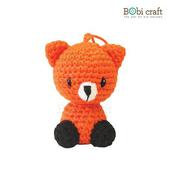 勾針娃娃-狐狸先生吊飾-Foxxie Ornament