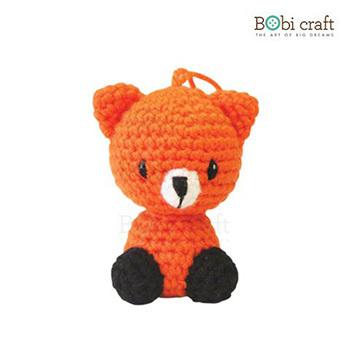 《Bobi》勾針娃娃-狐狸先生吊飾-Foxxie Ornament(10(H) /WT-139ORG-S)