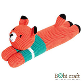 《Bobi》勾針娃娃-懶惰狐狸先生- Lazy Foxxie(16.5(H) /WT-175ORG-M-L)