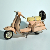 《Jayland》1955-1958 粉紅色 偉士牌  1:12 規格22(L) $990