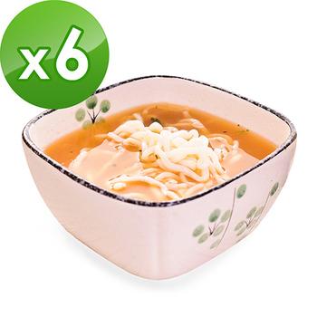 樂活e棧 低卡蒟蒻麵 燕麥拉麵210g/包+南瓜蘑菇濃湯13g/包(共6份)