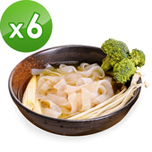 《樂活e棧》低卡蒟蒻麵 板條寬麵210g/包+南瓜蘑菇濃湯13g/包(共6份)