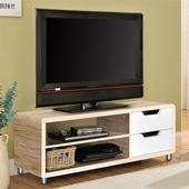 《佳嘉家》DIY曼格尼電視櫃/茶几桌/邊桌(淺橡+白色)(淺橡色+白色)