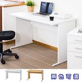 《C&B》多崎簡潔OA辦公電腦書桌(白色)