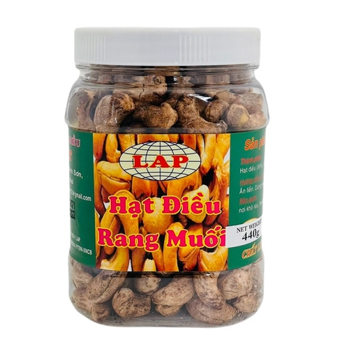 越南帶皮鹽焗腰果(440g/罐)