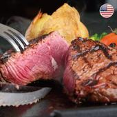 《欣明生鮮》美國CAB藍帶厚切雪花牛排(200公克±10% /片)(*1包)