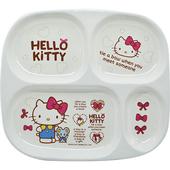 《蝴蝶結KITTY》四格餐盤(NO812)