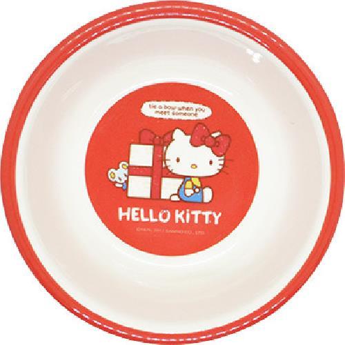 《蝴蝶結KITTY》平底碗(NO801)