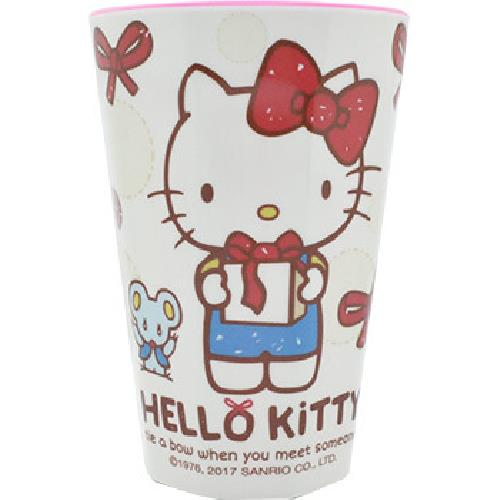 《蝴蝶結KITTY》飲料杯-款式隨機出貨(NO917)