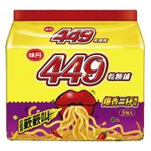 《味丹》449乾麵舖爆香三杯風味包麵(100g*5包/袋)
