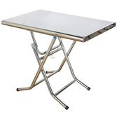 2x3呎不銹鋼板招財桌(60x90x76cm/I-H-TA379)