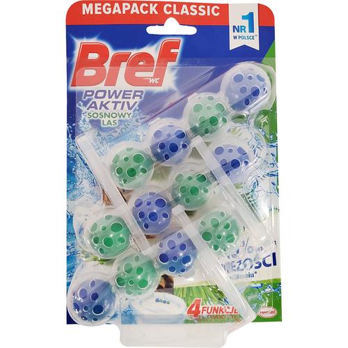 《德國Bref》馬桶強力清潔球/芳香球 50g*3入/組(松木)