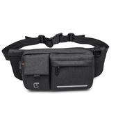 《TANGCOOL》多功能休閒腰包斜肩/跨胸包906-黑色 $320